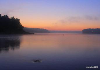 Sunrise Raccoon Lake