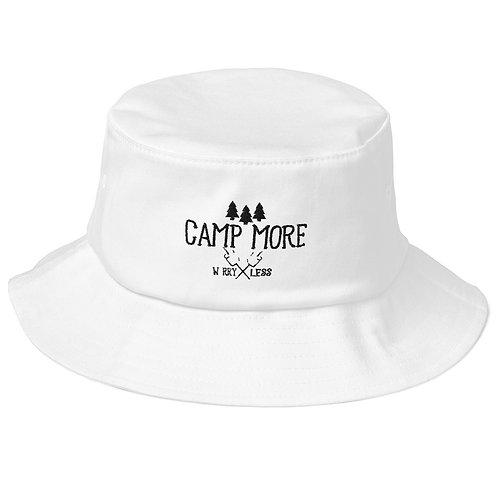 Camp More Old School Bucket Hat