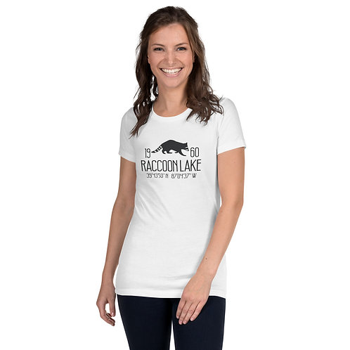 Raccoon Lake Women's Slim Fit T-Shirt