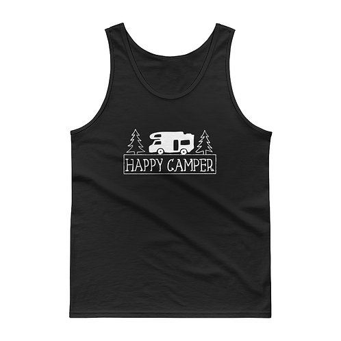 Happy Camper Gildan 2200 Tank top
