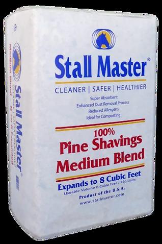 Stall Master Medium Blend Pine Shavings.