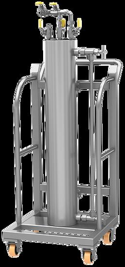 Sistema de Limpeza de Célula PVT
