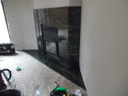 Custom Granite Installation