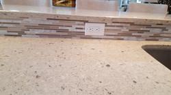 Tile Backsplash Quartz Countertops