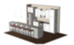 Kitchen Layout 3D