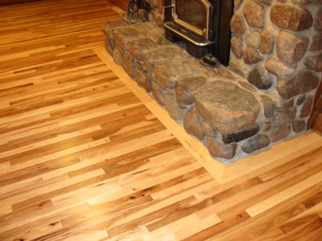 Vintage Hickory Flooring