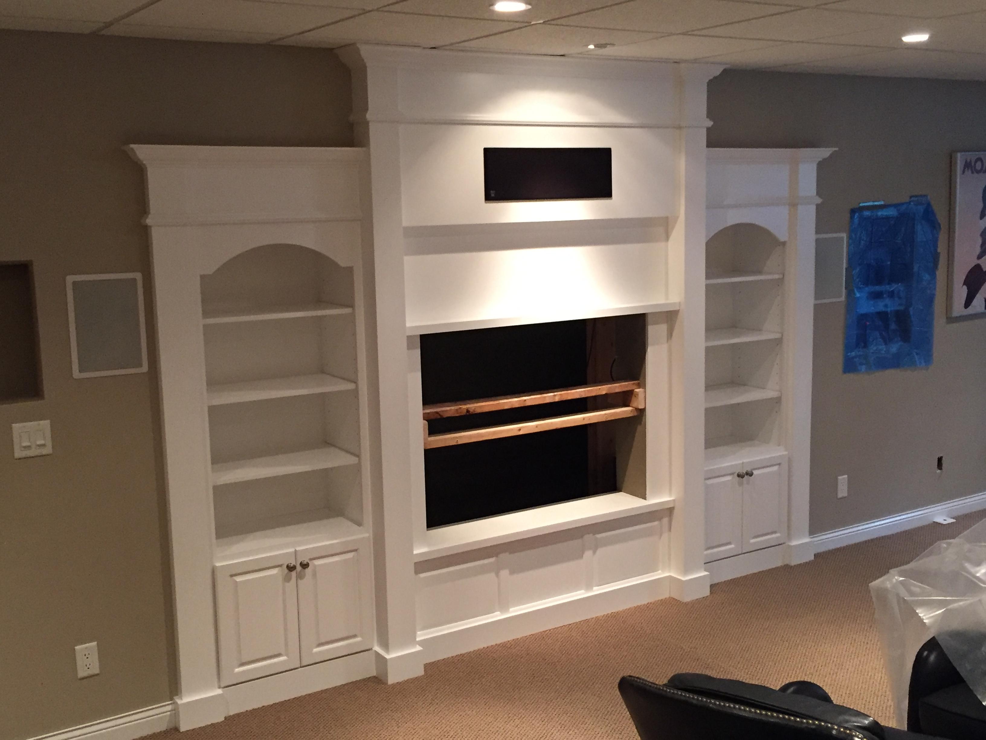 Cabinet & Moulding Installation