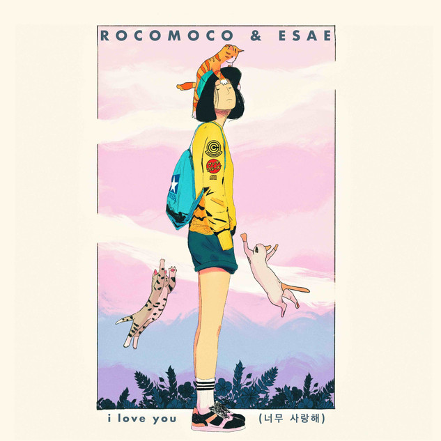 rocomoco & esae - i love you (single)