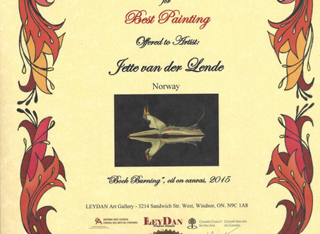 Ley Dan Award exhibition 2016
