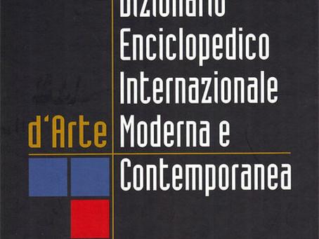 Book: Dizionario Enciclopedico Internazionale d'Arte Moderna e Contemporanea
