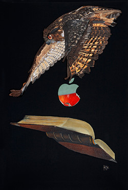 The wise hunts knowledge 70x105cm