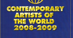 Book: Contemporary Artists of the world 2008-2009
