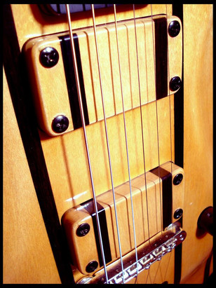 Stripe guitar pickup covers