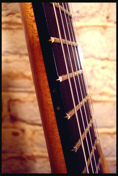 Stripe guitar neck