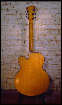 Archtop back