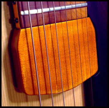 Archtop pickup cover