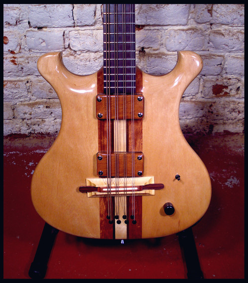 Mandocello body front