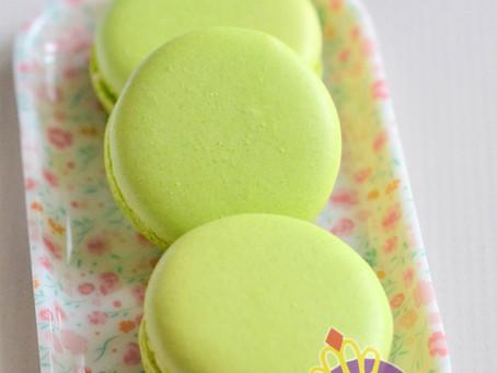 Lime Green Macarons