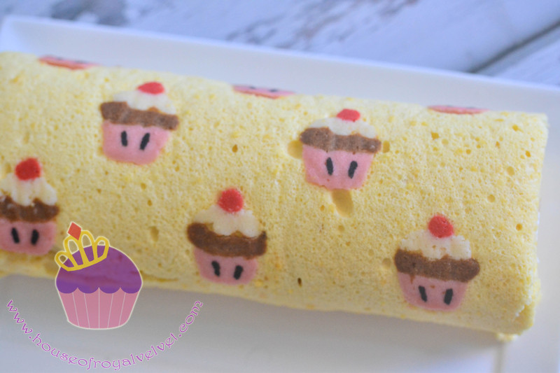 cupcakes roll cake