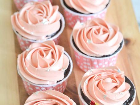 Rosette Cupcakes For Mysha