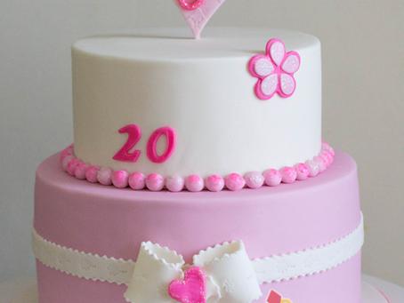 Simple Birthday Cake for Josephine