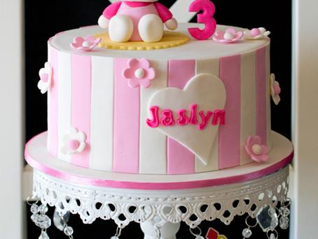 Hello Kitty Cake For Jaslyn