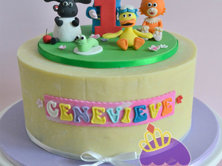 Timmy Time Cake for Genevieve