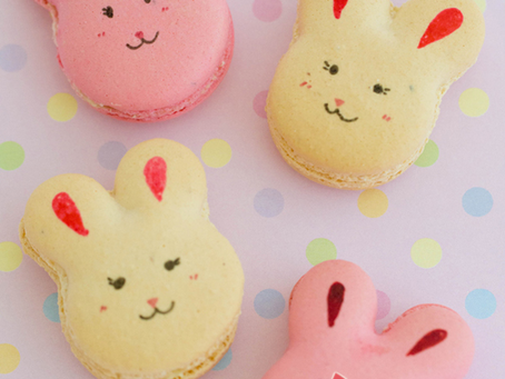 Bunny Macarons For Yuchen's 6th Birthday