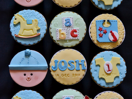 Full Month Cupcakes for Josh