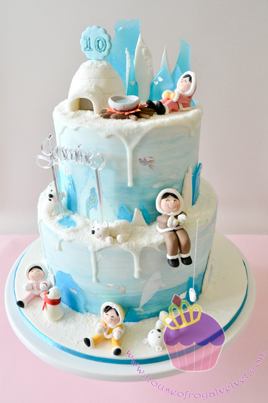 north pole cake