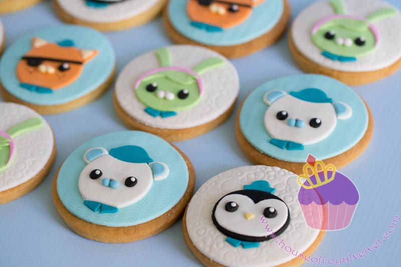 octonauts cookies