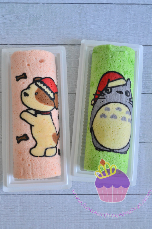totoro roll cakes