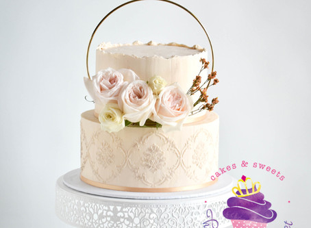 Toffee Wedding Cake