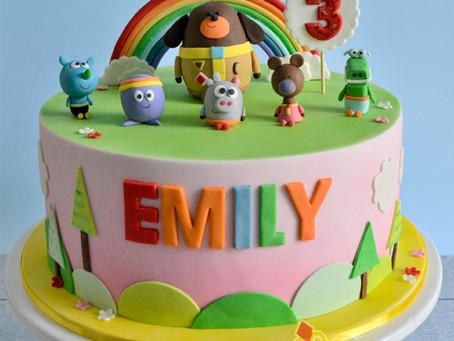 Hey Duggee Cake for Emily