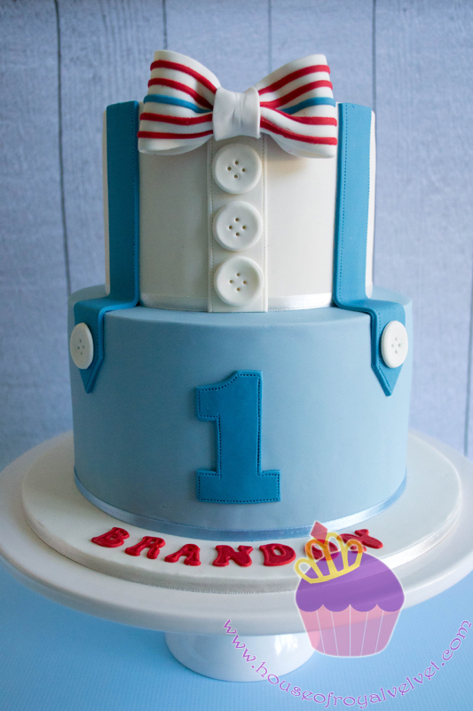 Bowtie Cake for Brandon Perth Cakes Perth WA House of Royal Velvet