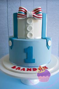 bowtie cake