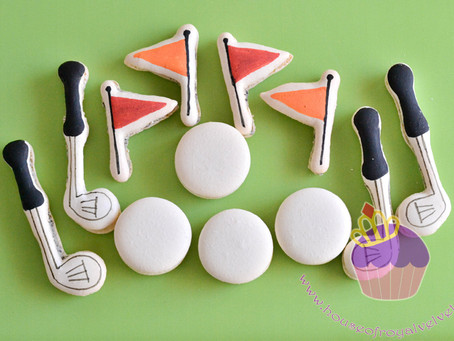 Golf Macarons