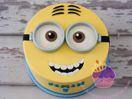 Minion Cake for Jimin