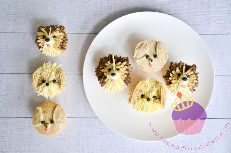 dog cupcakes