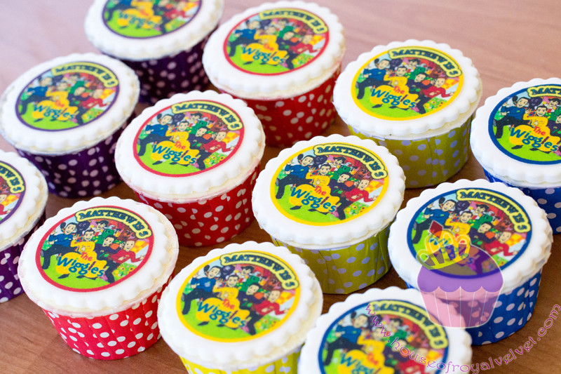 the wiggles cupcakes