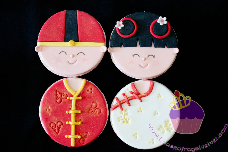CHINESE COUPLE CUPCAKES