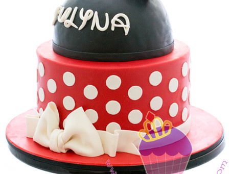 Minnie Mouse Cake for Yulyna