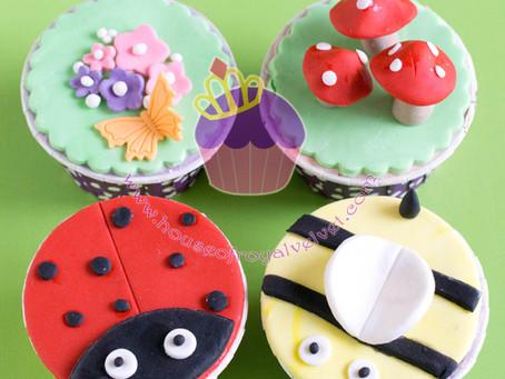 Garden Cupcakes Class
