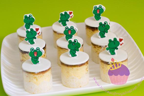 line leonard cake