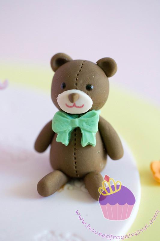 fondant teddy