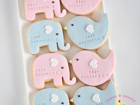 Baby Gender Reveal Cookies