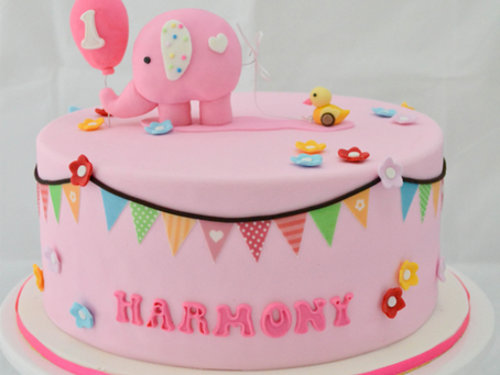Elephant Cake for Harmony