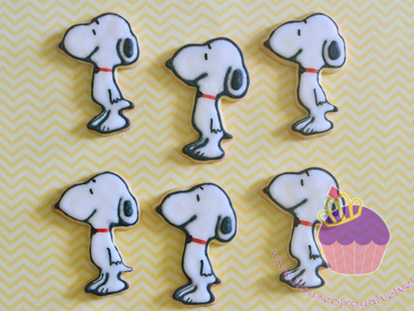 Snoopy Cookies for Mark