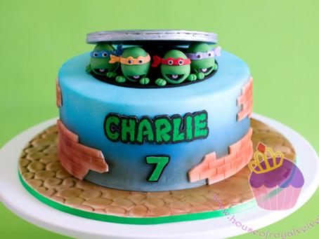 Ninja Turtles Cake for Charlie