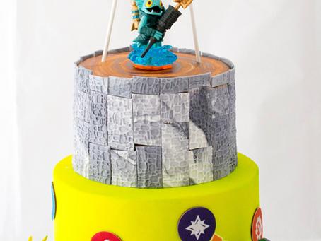 Skylander Cake for Nathan